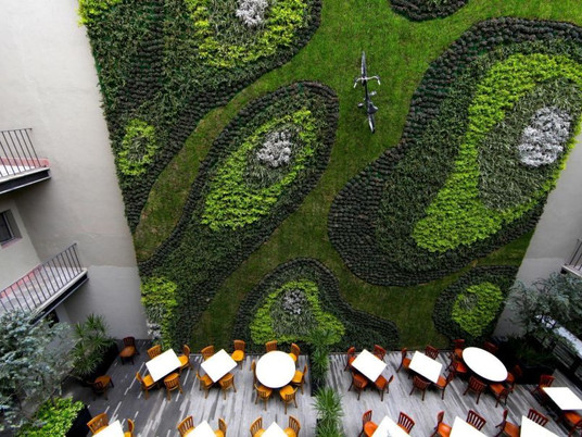 Вертикальные лужайки - Verde Vertical (Мексика)