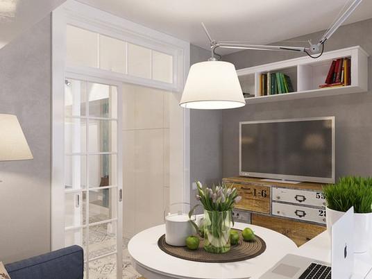 Дизайн квартиры-студии (25 кв.м.)