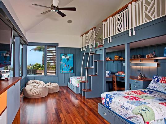 Как создать стильную общую детскую спальню