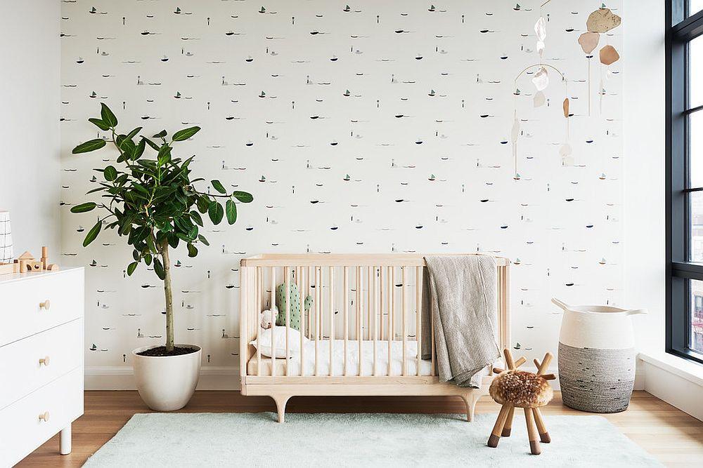 дизайн-детской-зеленые-спальни