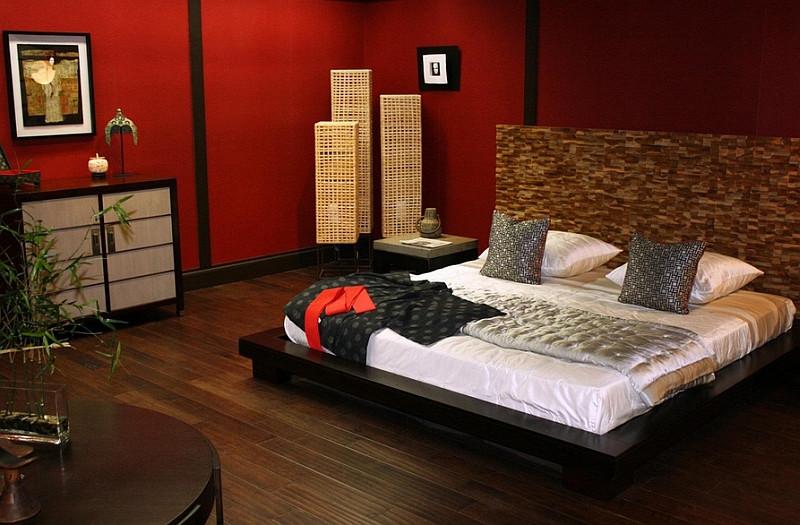 дизайн-интерьера-спальня-азиатский-стиль