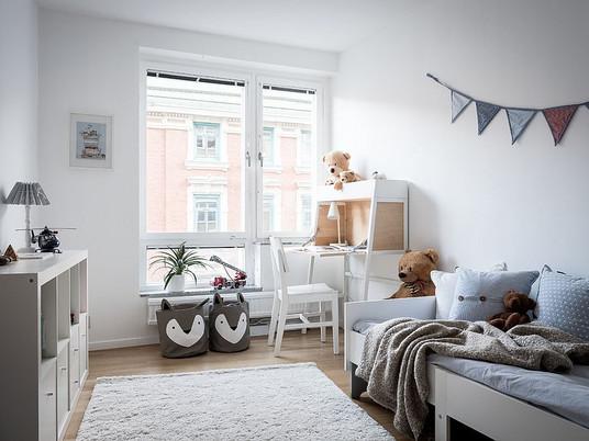Идеи для зонирования детской комнаты