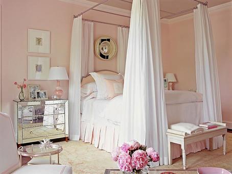 Летнее настроение: спальни в пастельных цветах