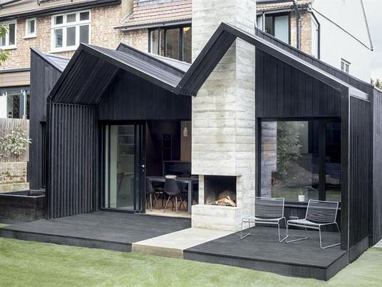 Темное расширение классического лондонского дома
