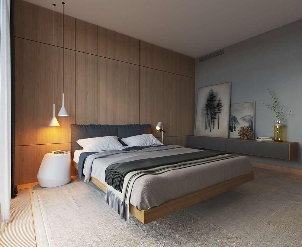 дизайн-спальни-стиль-минимализм