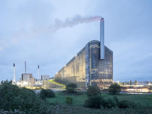 Самая чистая электростанция в мире от студии BIG