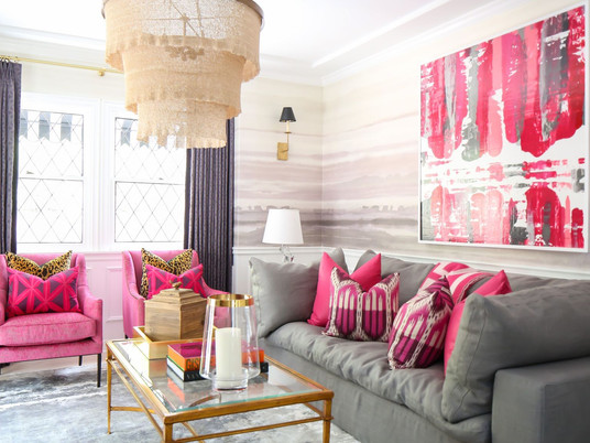 Дом в ярких красках из Беверли-Хиллз
