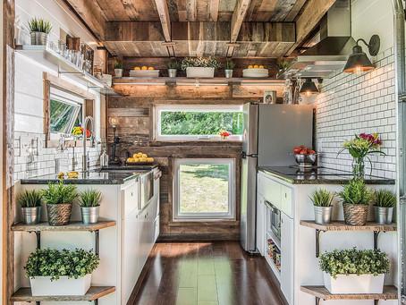 Небольшие кухни и максимизация пространства