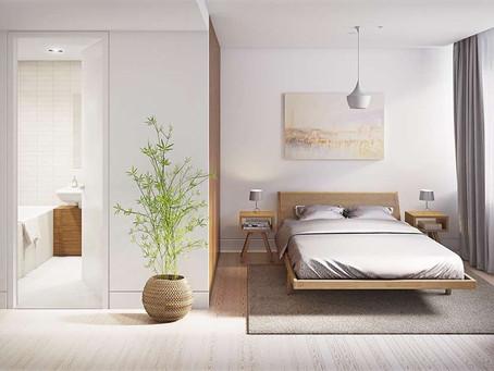 Свободные и прекрасные – спальни в стиле минимализм