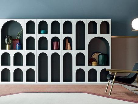 Исключительная красота: шкафы для гостиной с удивительным дизайном