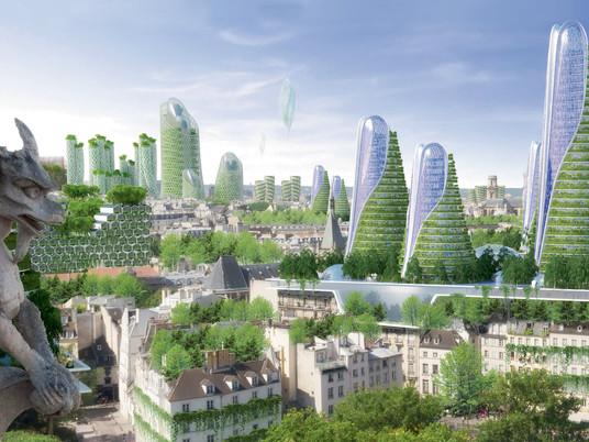 8 захватывающих дух футуристических проектов городов будущего
