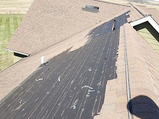 Wind Damage - Missing Shingles