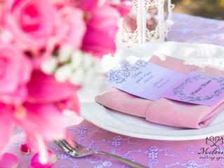 Елементи на декорация: платнената салфетка