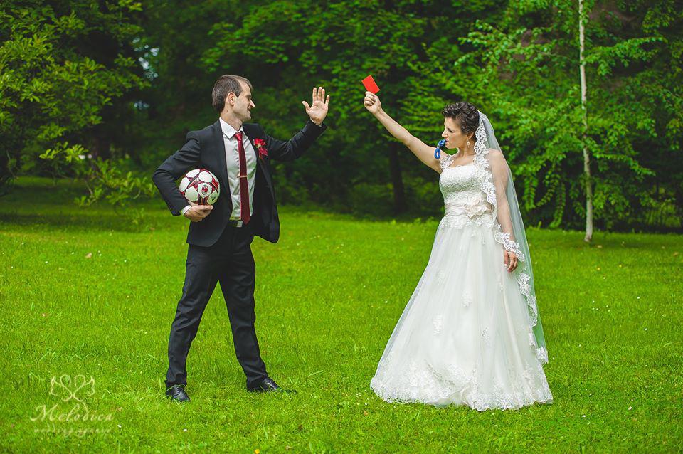Сватбена агенция Мелодика, нетипична сватбена фотография