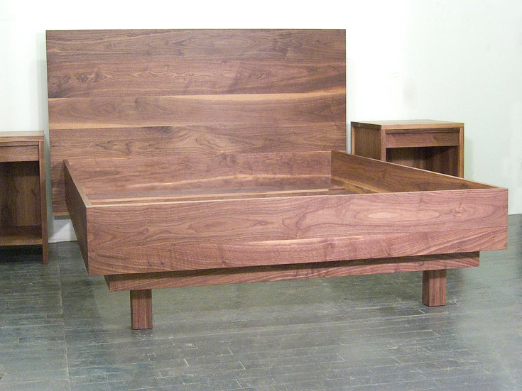 Walnut Bed