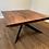 Thumbnail: Walnut - square to round dining table