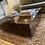 Thumbnail: High polish walnut burl coffee table