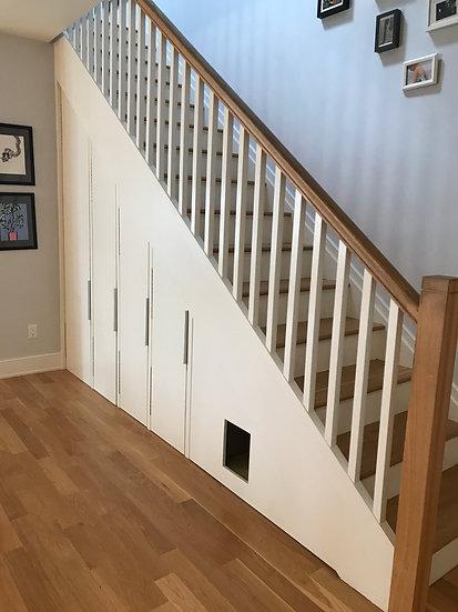 Modern Stair Storage
