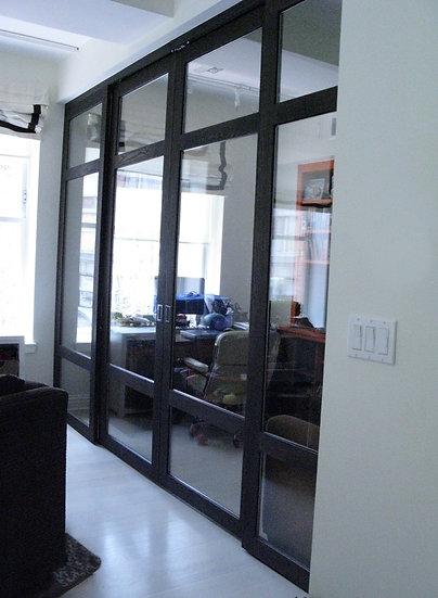 Ash Office Doors