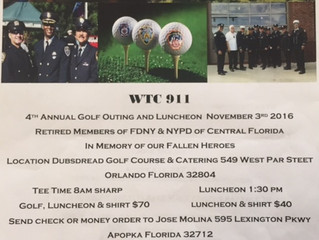 9/11 Golf Tournament - FDNY & NYPD
