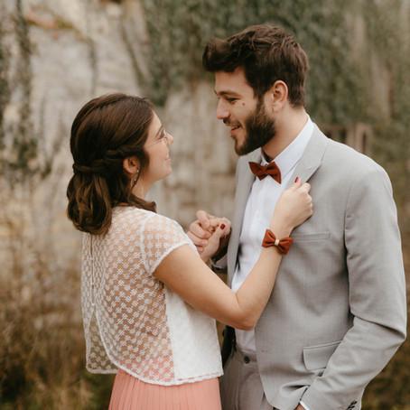 Dress code mariage - Idée n°2, le dégradé.
