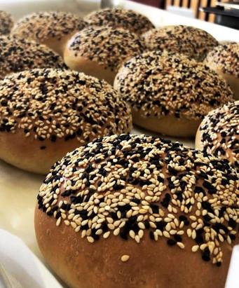 Sesame Seed Brioche Buns.JPG