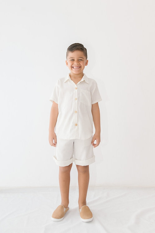 Camisa Léo Linho