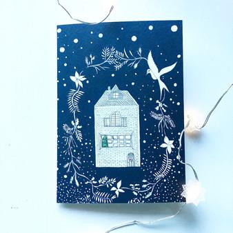 Kerst/verhuiskaart
