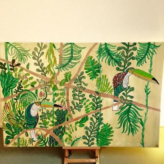 jungle opdracht 2x2m