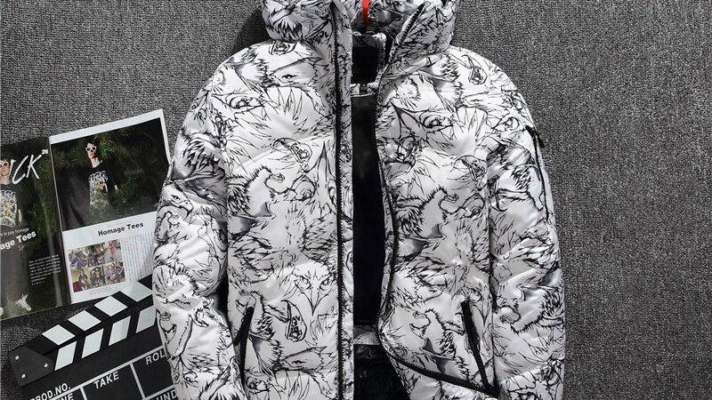 2020 Winter New Boutique White Duck Down  Coat