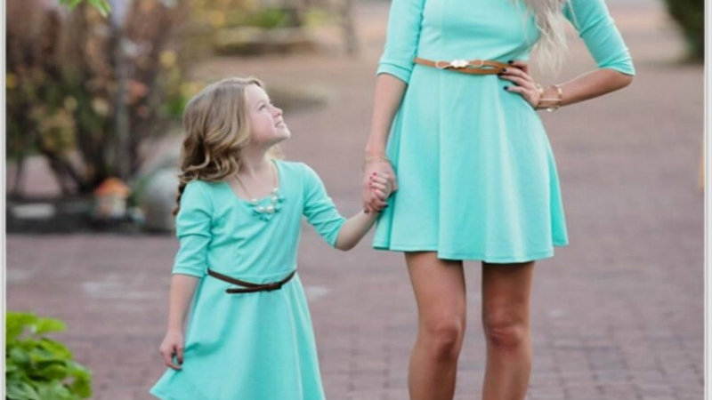 Mommy and Me Party Dresses A-Line
