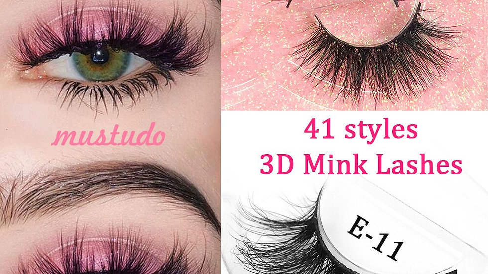Dramatic 3D Mink Lashes