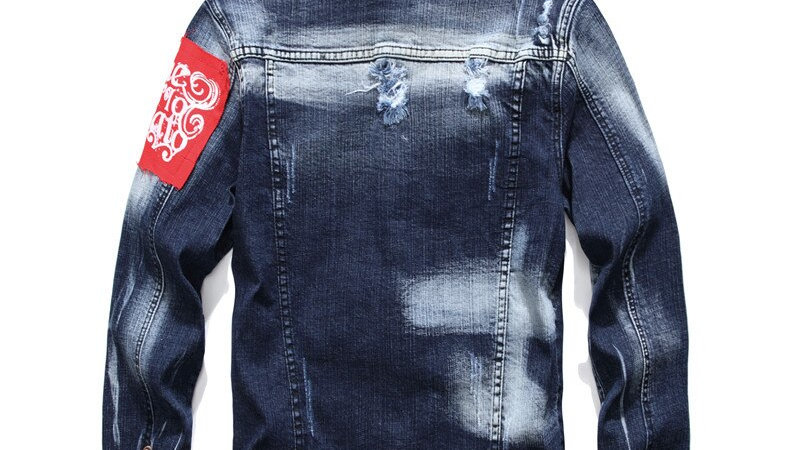 Fall  Denim Jacket Fashion Streetwear