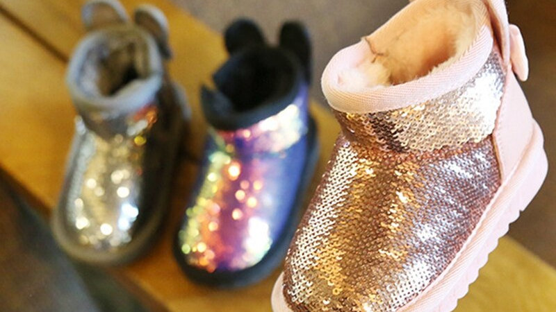 Sparkle Snow Boots Anti-Slip