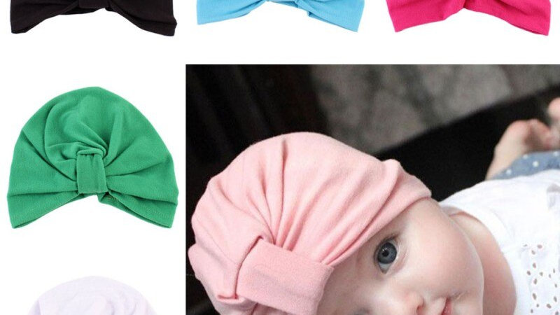 Candy Colored  Bohemian Turbans 1-5 Years Baby