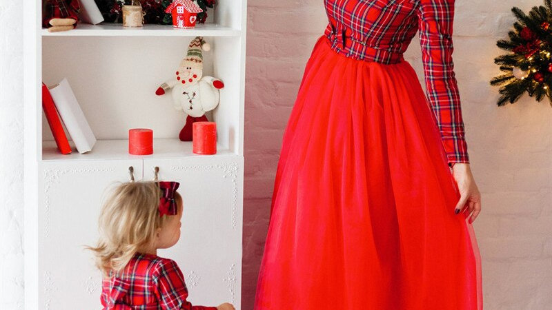 Autumn Mommy and Me Tutu Dress