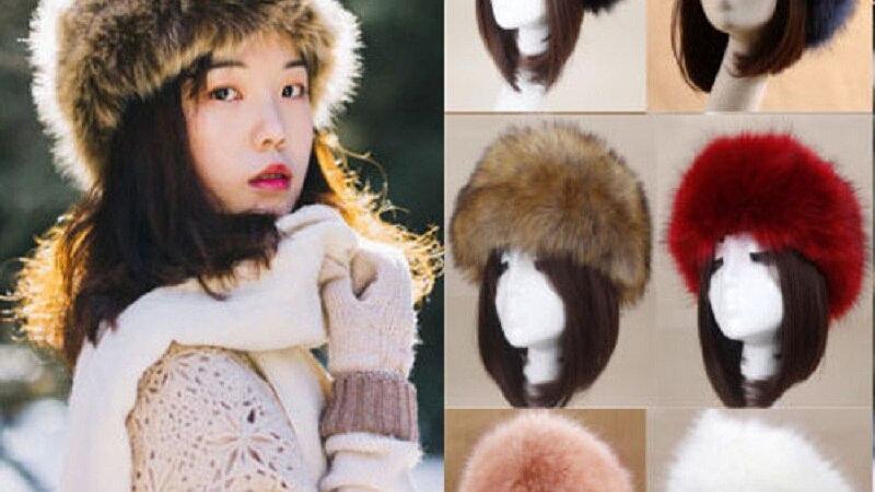 Fluffy Winter Russian Berets Hat