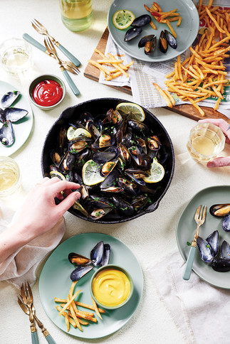 ROASTED MUSSELS - SKILLET LOVE