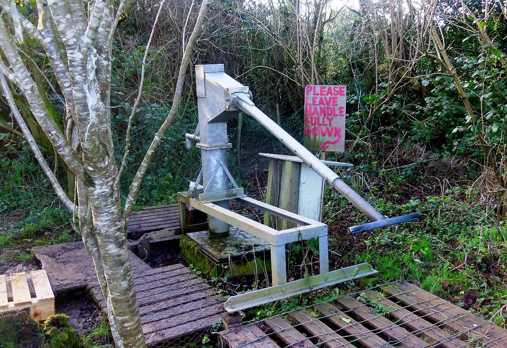 The Landmatters water pump