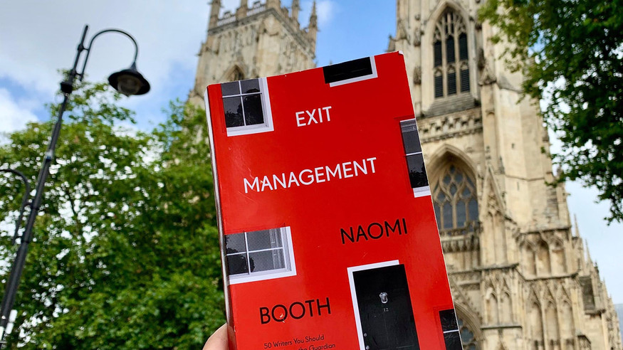 REVIEW: Exit Management by Naomi Booth