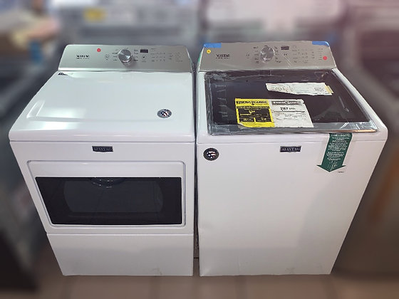 Maytag Top Load Electric Set