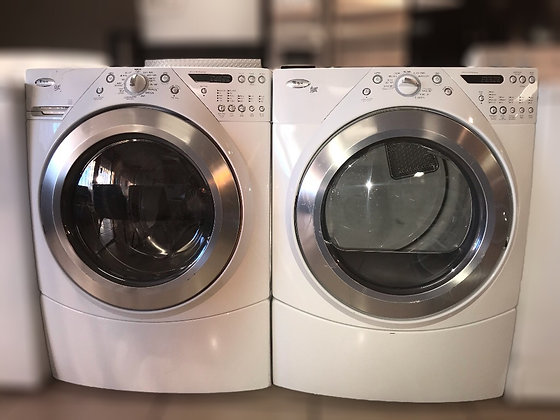 Whirlpool Duet Front load Gas or Electric Set