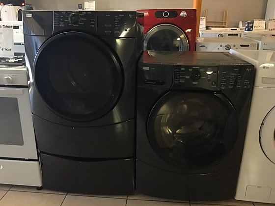 Kenmore Elite Front Load Gas Set