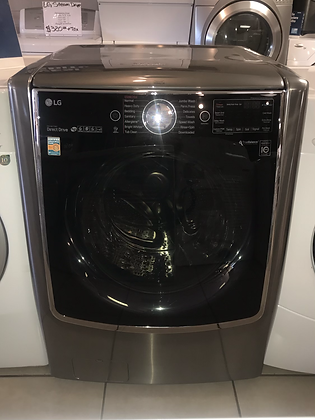 LG Graphite Steel Front Load Washer