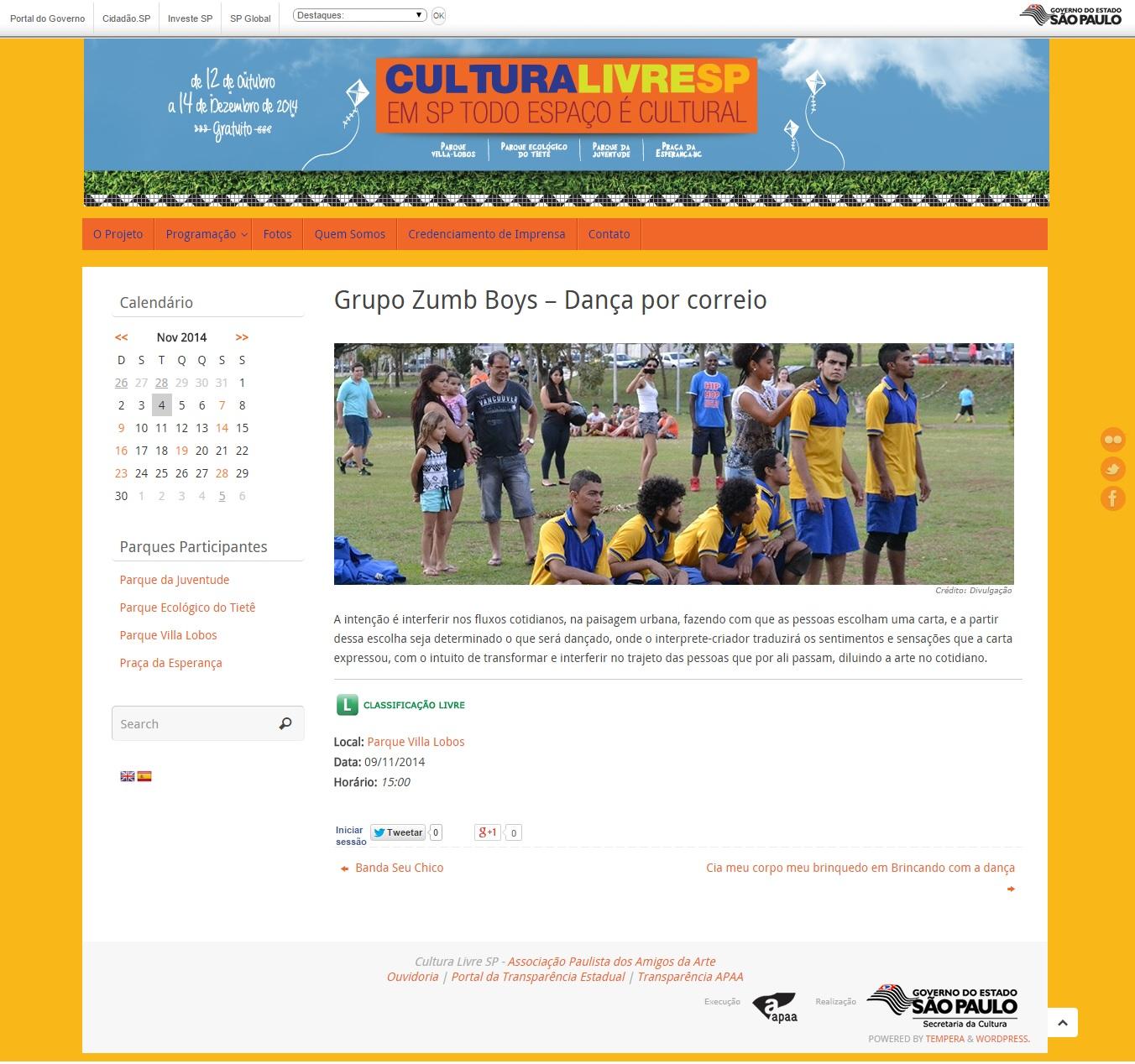 Cultura Livre - 2014
