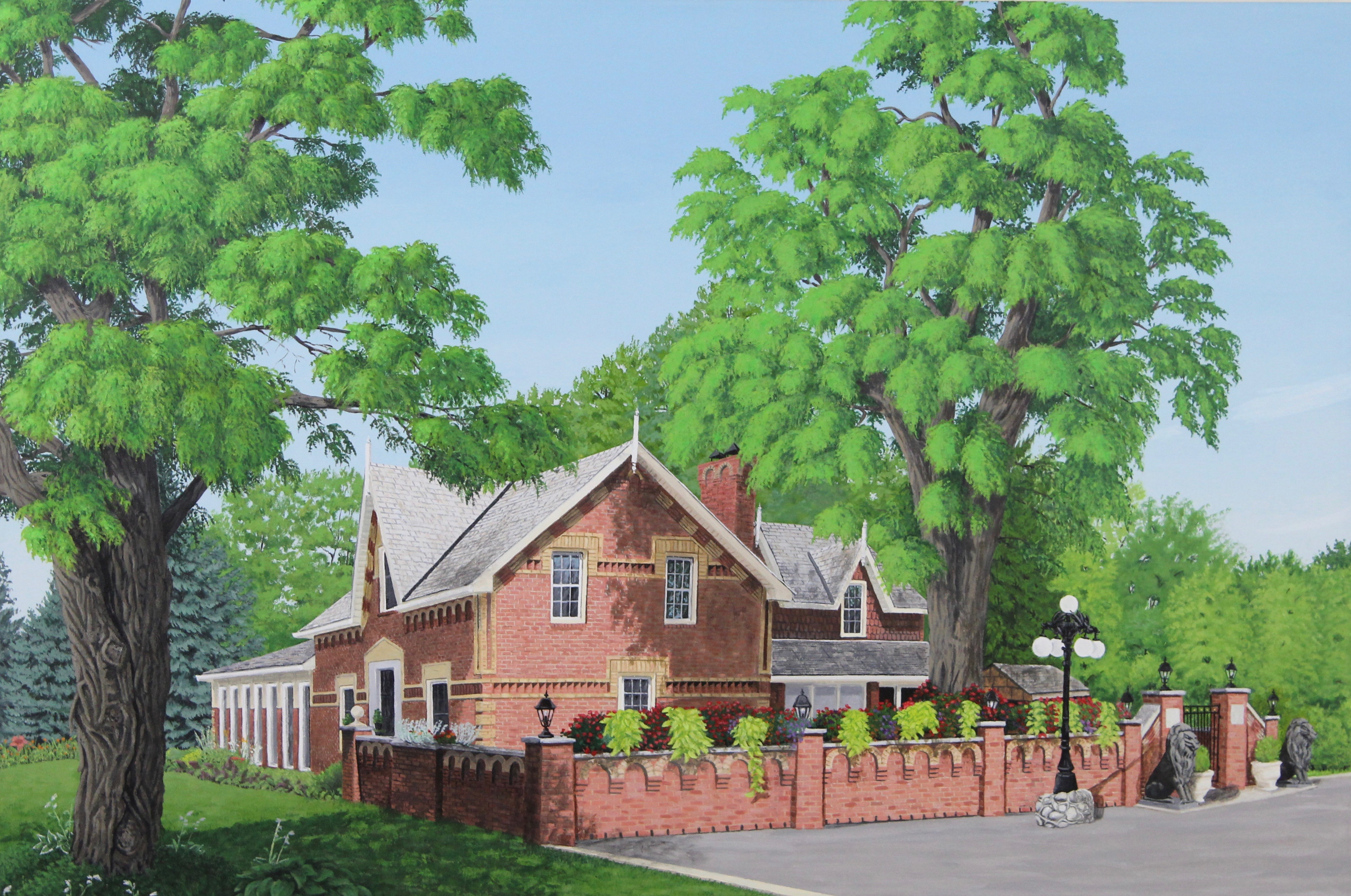 Country Estate – Diptych