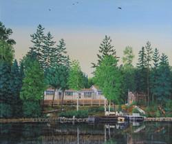 Lake Side Cottage