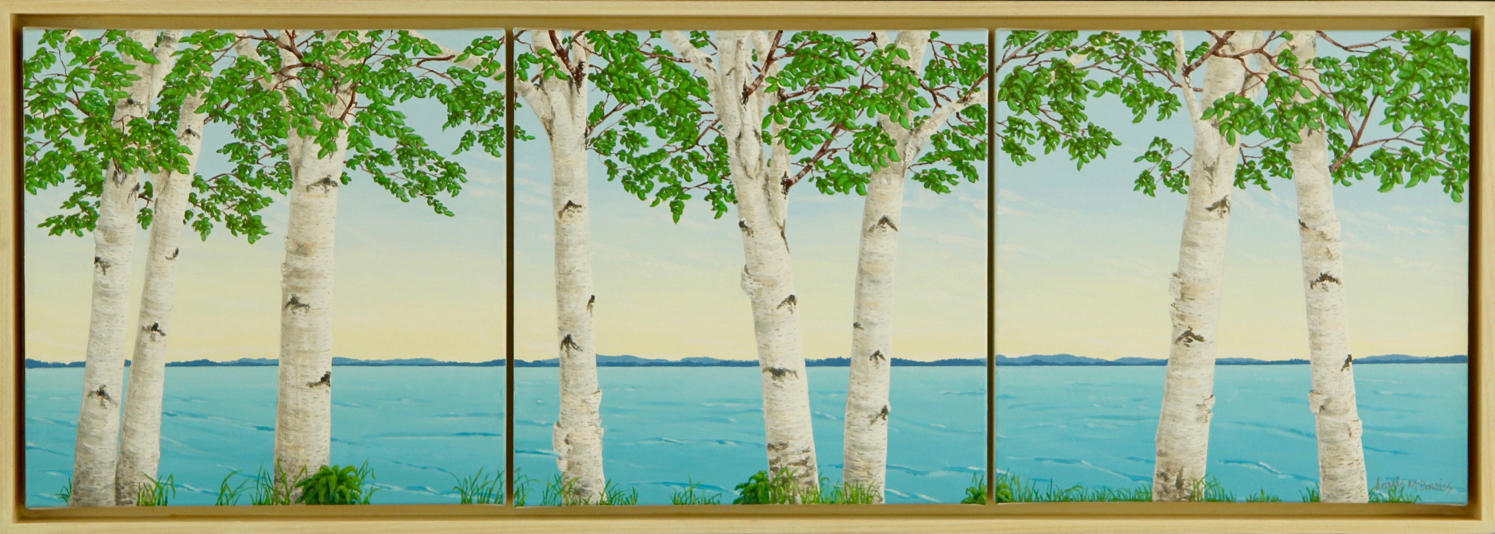 Birch View – Tritych