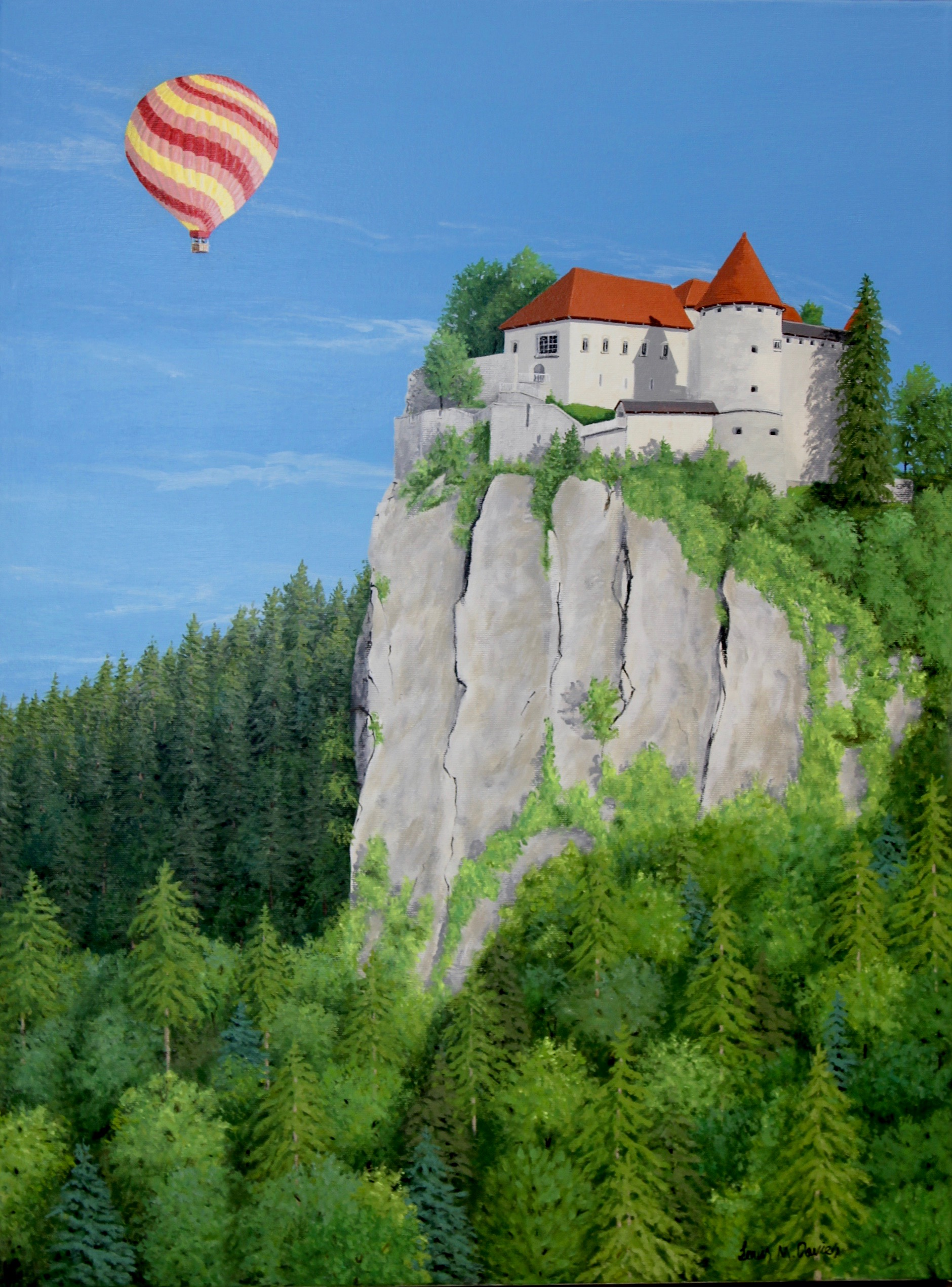 Up, Up and Away– Lake Bled, Slovenia