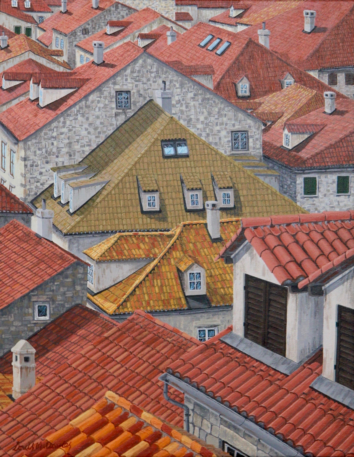 Roof Top Meetings - Croatia
